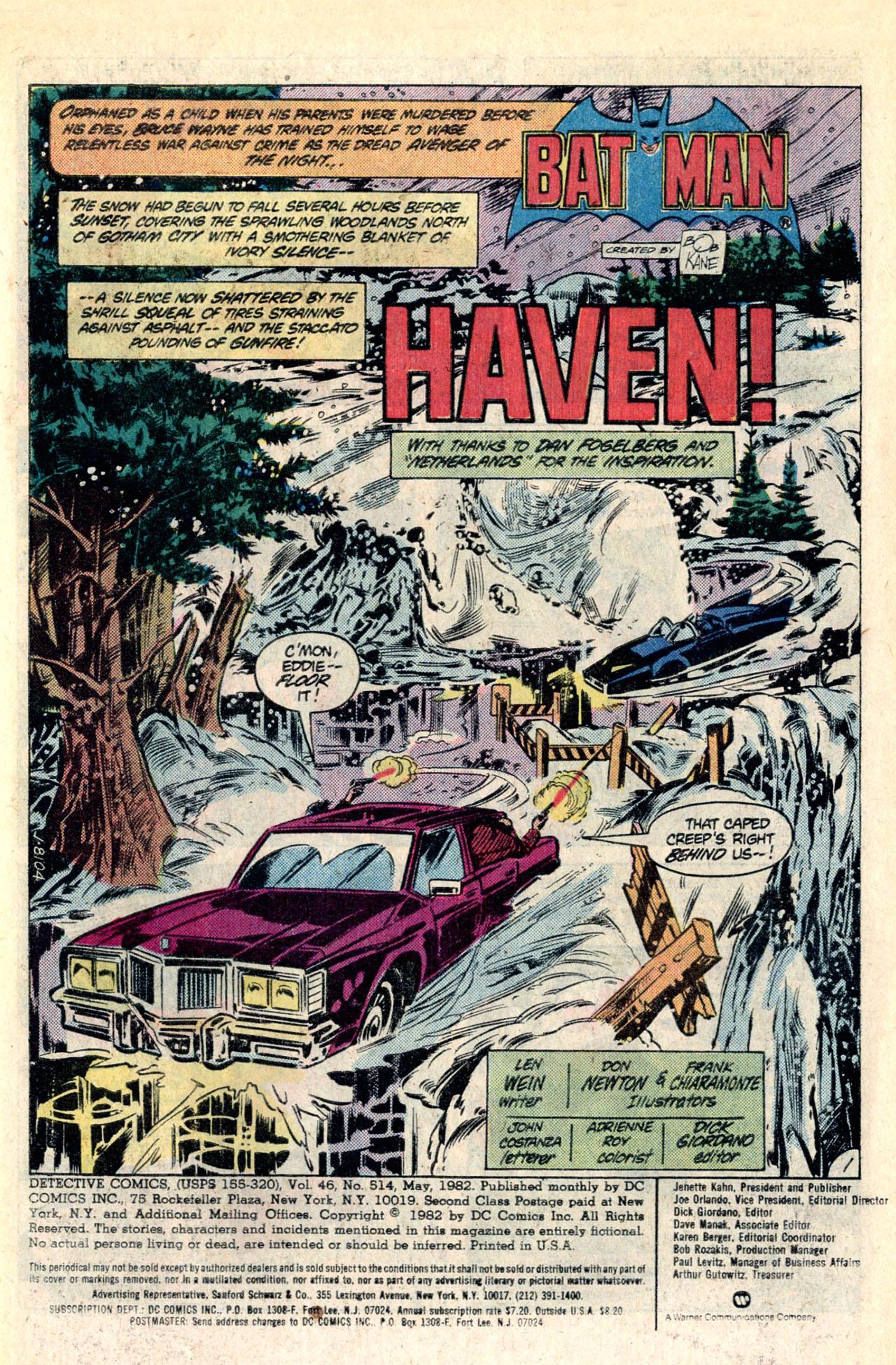 Detective Comics (1937) 514 Page 2