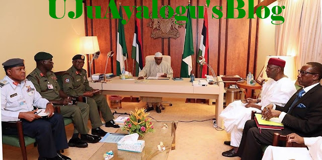 President Buhari orders military to deal with Biafra security service & Boko haram