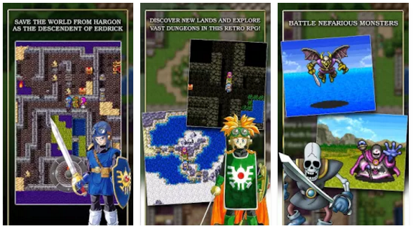 DRAGON QUEST II MOD APK Full Patched Terbaru