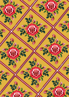 Flower Pattern Textile Design 0021