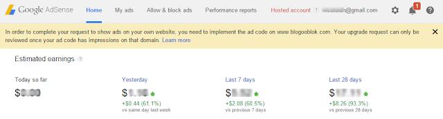 Cara Ampuh Upgrade Akun Google Adsense Jadi Full Approve