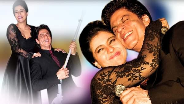shahrukh khan and kajol romance
