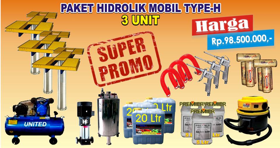 Paket Hidrolik-H (3 Unit)