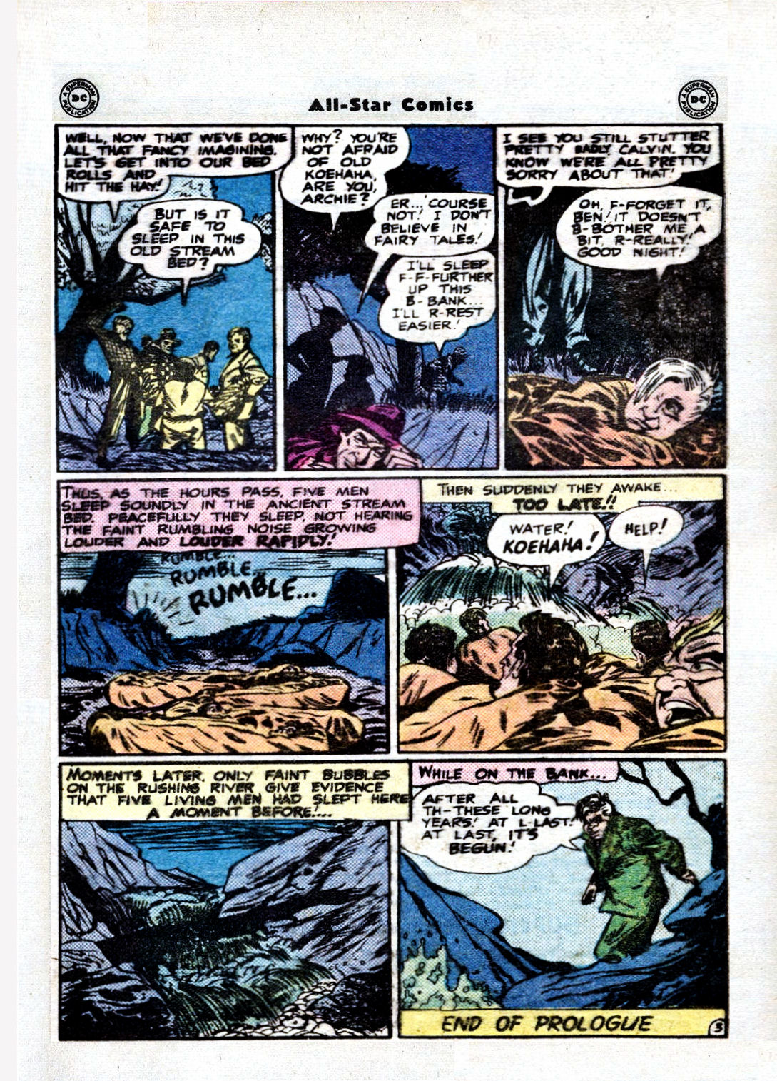 Read online All-Star Comics comic -  Issue #36 - 5