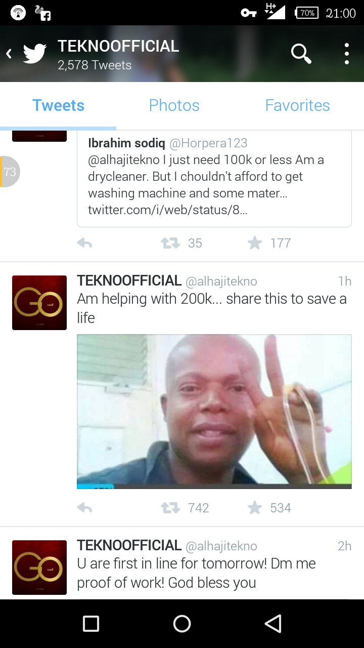 5 Million Naira Charity!!!! Tekno Miles Reach Out To The Fans
