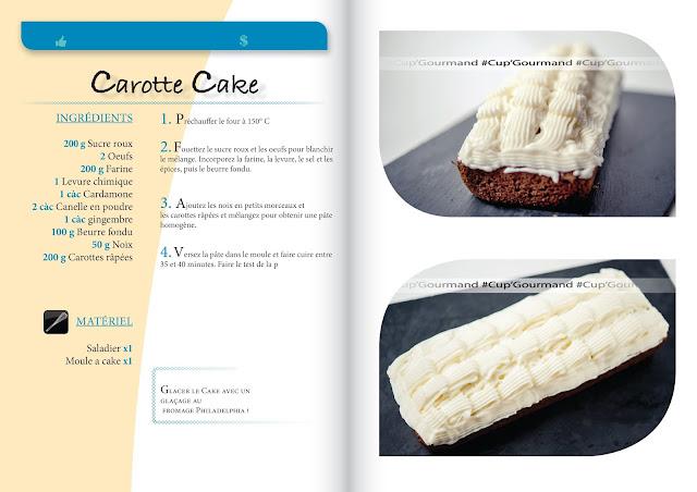 Une recette que j'ai trouvé dans un livre, Très bon niveau goût, juste le glaçage que j'ai remplacé par un glaçage au fromage, plus léger. J'ai aussi doublé les proportions car comme vous pouvez le voir le cake n'est pas très haut. Moule utilisé de 26cm