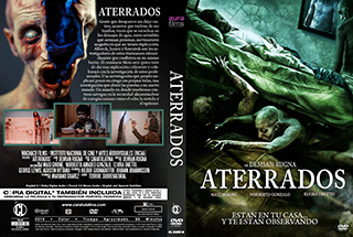 Aterrados - Cover DVD