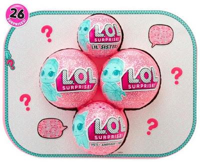 Семья игрушек из чемоданчика L.O.L. Bigger Surprise