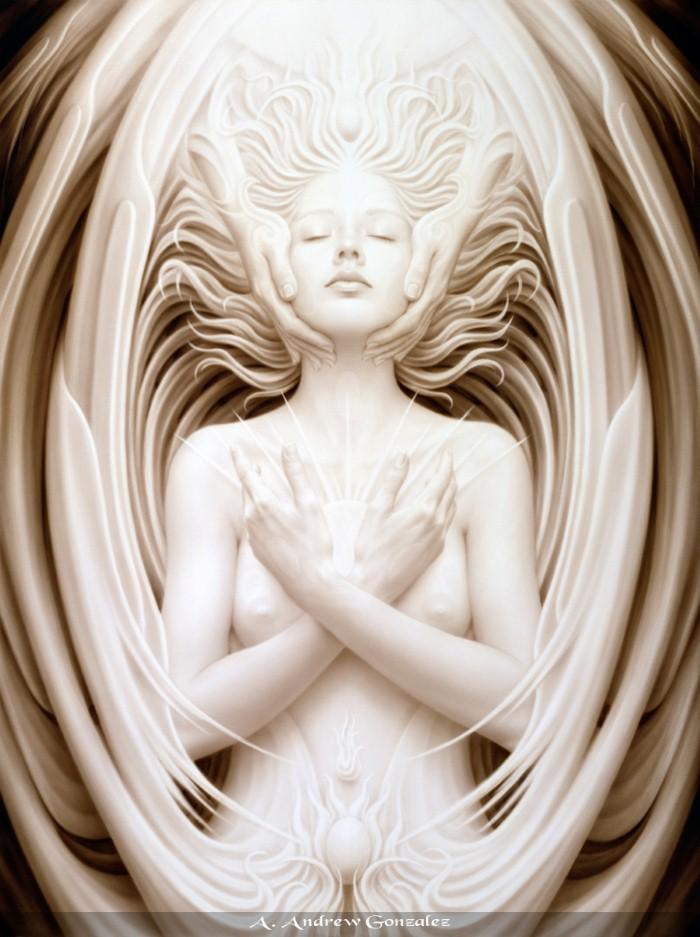 Тантрическое искусство. Andrew Gonzalez 7