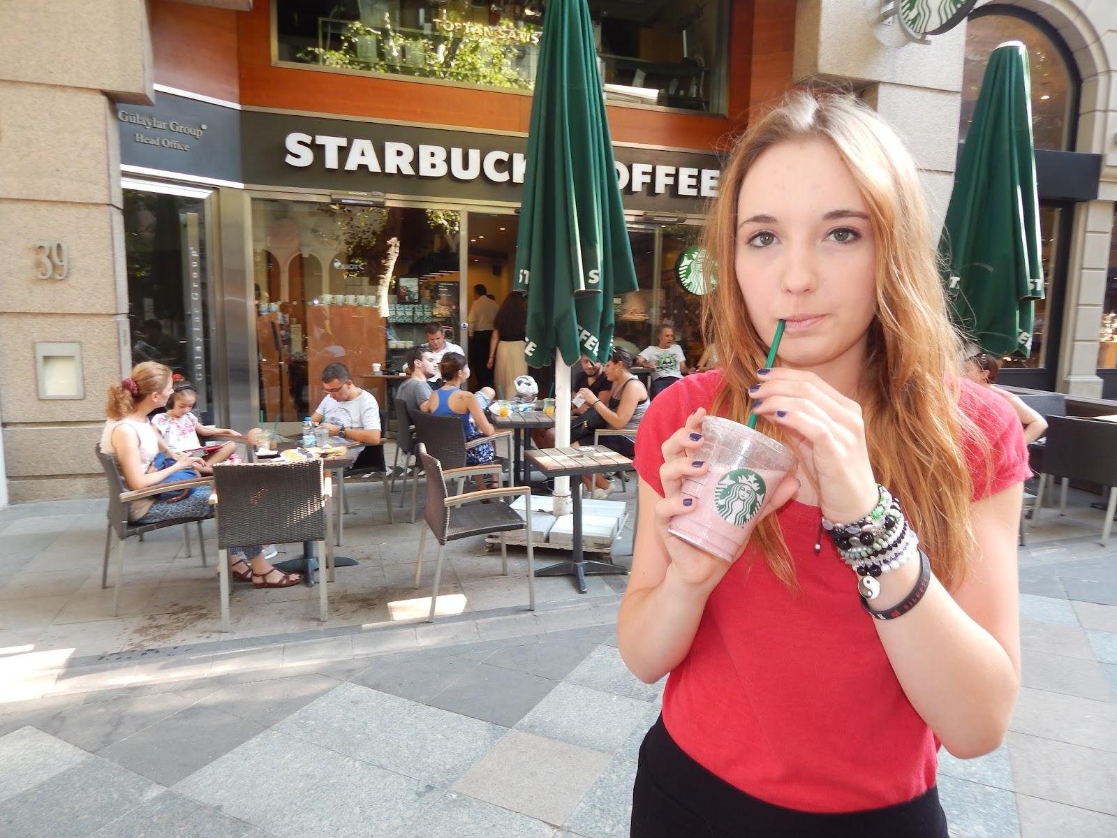 Starbucks coffee Istanbul