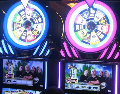 Vegas slot machines: let the TV games begin