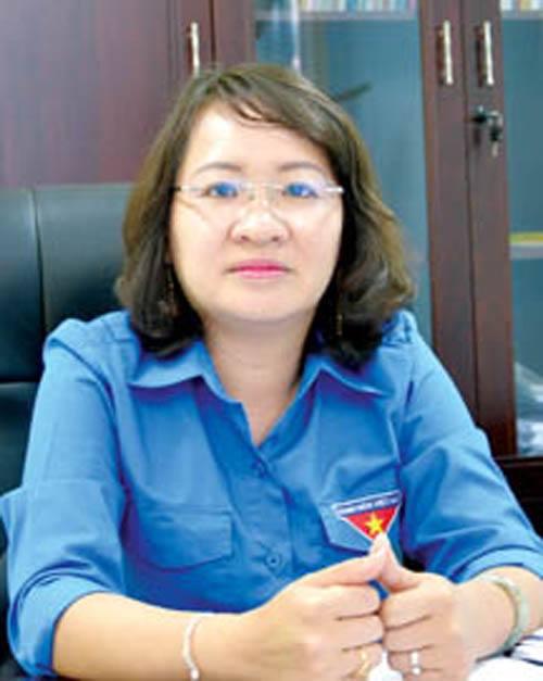 Bà Hà Thị Anh Thư - bí thư huyện ủy Bình Sơn