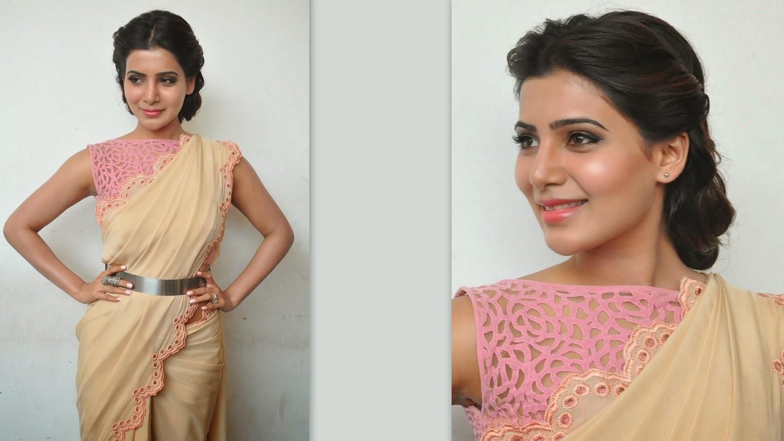 Sparkling Fashion: Samantha ruth prabhu\'s Trendy hairstyles for ...