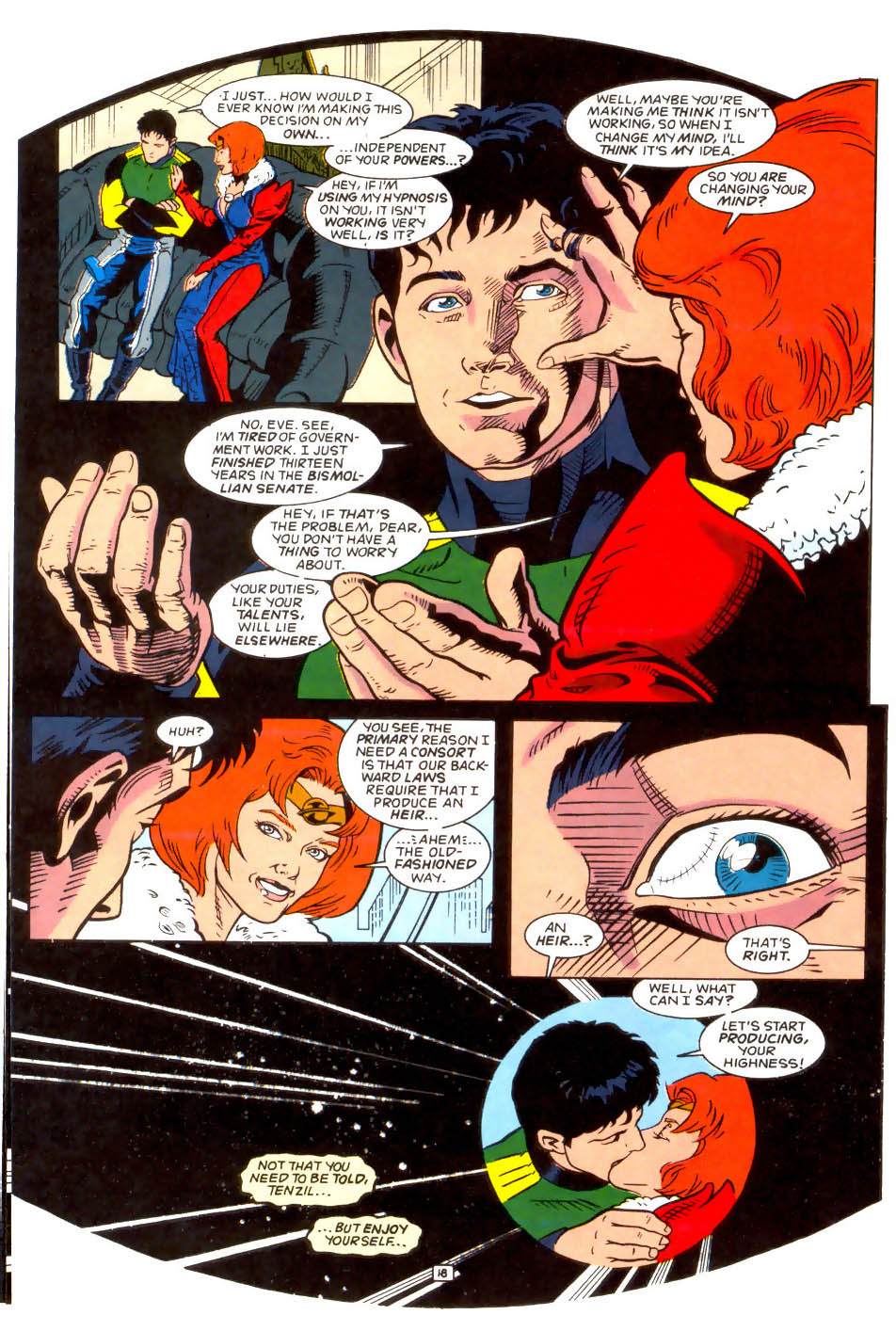 Legion of Super-Heroes (1989) 50 Page 18