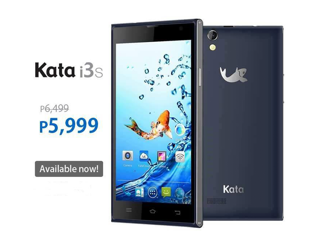 Sale Alert! Kata i3s Now Priced At Php 5,999 From Php 6,499!
