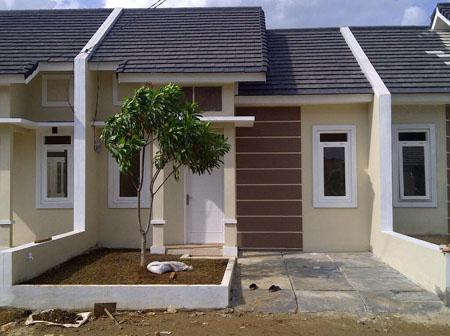 rumah minimalis type 54 simple dan elegan