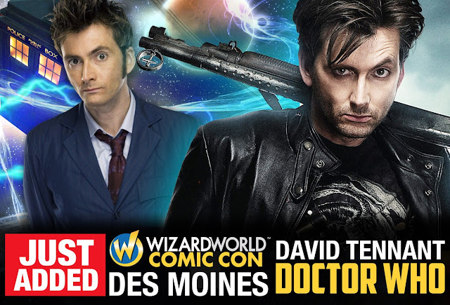 David Tennant - Wizard World Des Moines fan convention