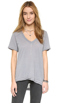 Free People Pearls Tee $23 (reg $58)