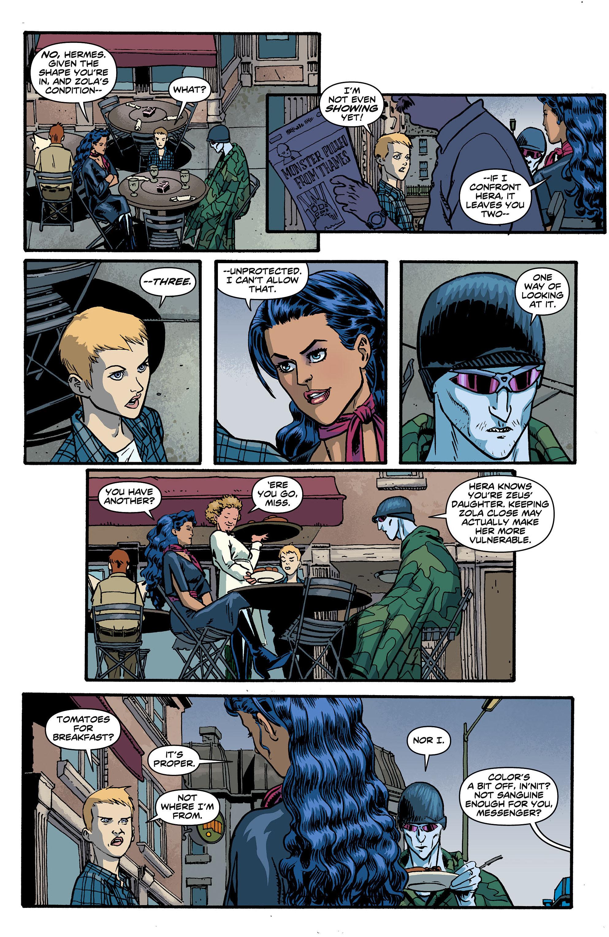 Read online Wonder Woman (2011) comic -  Issue #5 - 5