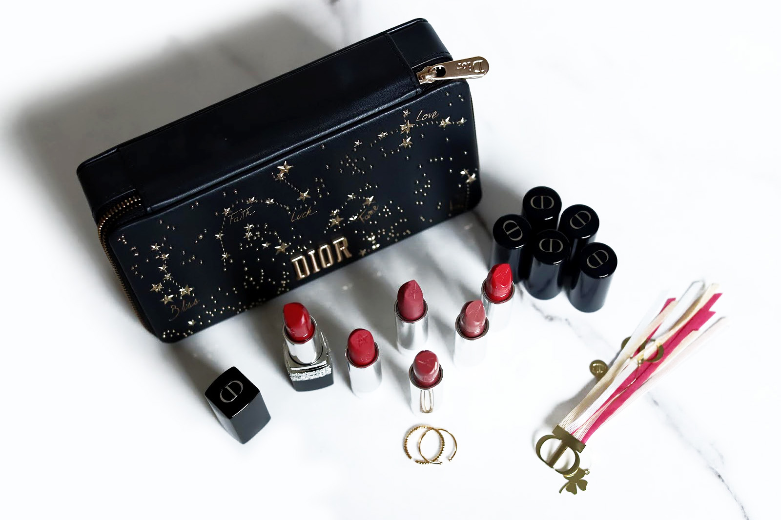 dior rouge coffret collection couture noel 2018