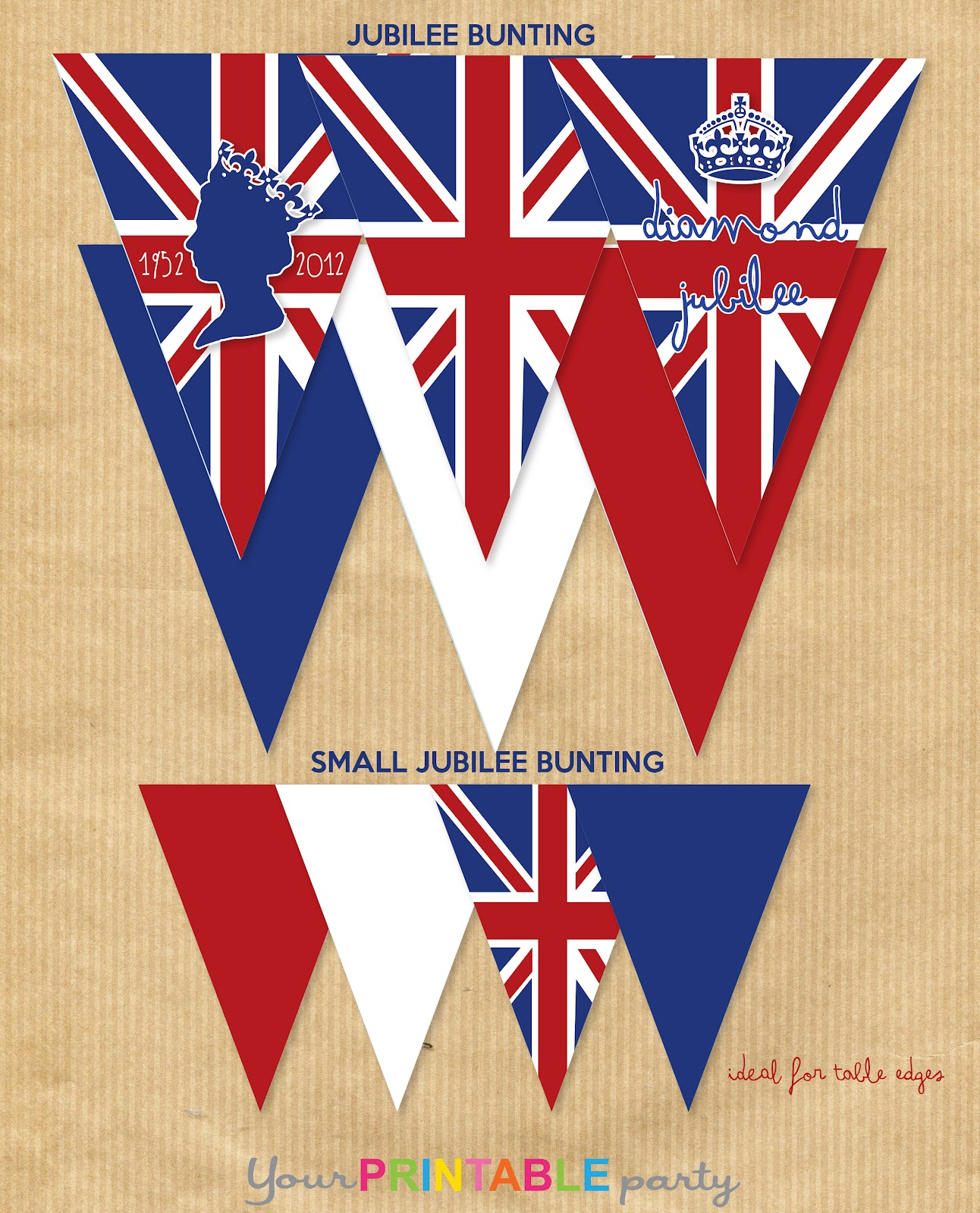 Your Printable Party Jubilee Party Free Printables