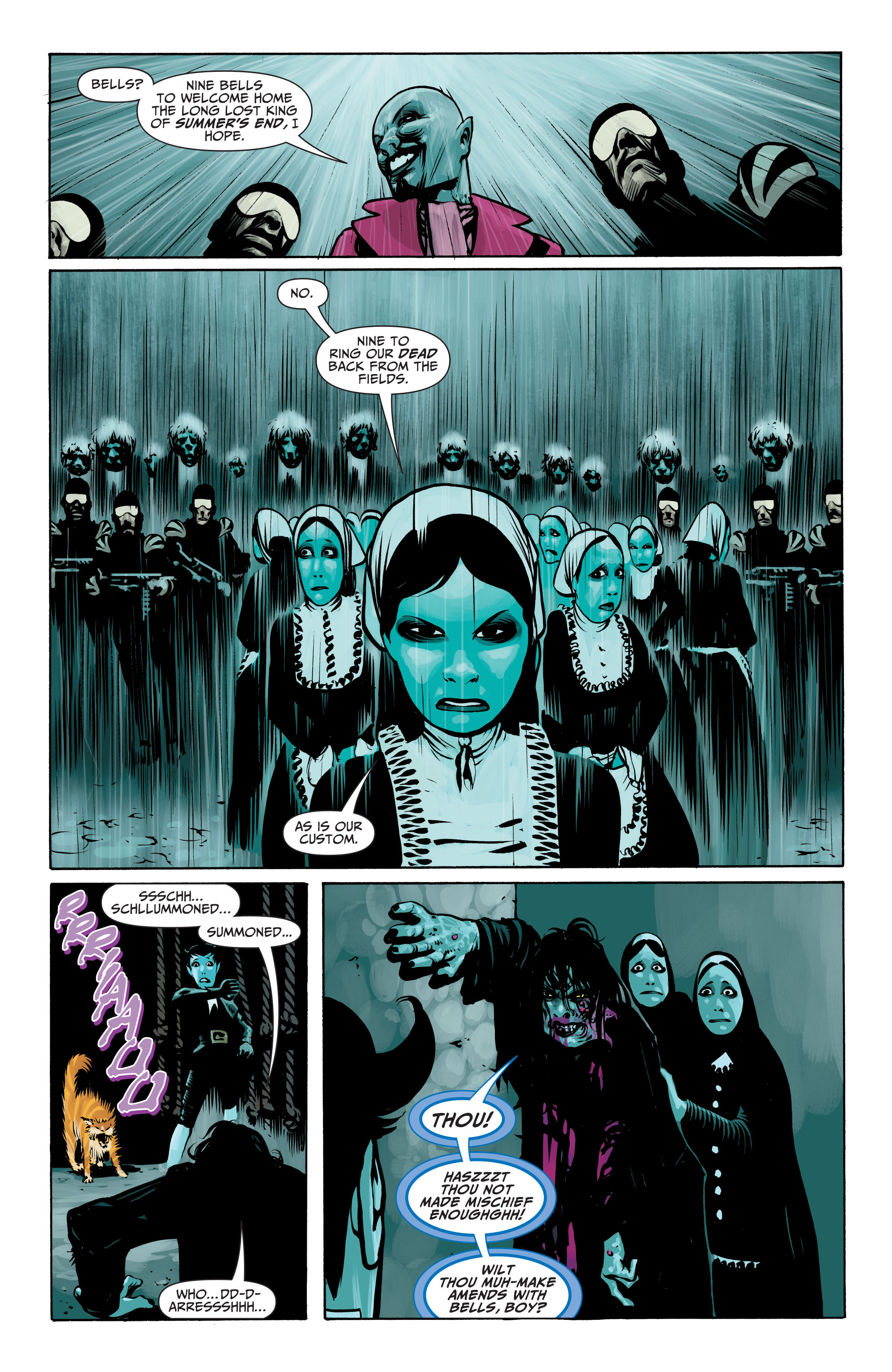 Read online Seven Soldiers: Klarion the Witch Boy comic -  Issue #4 - 10