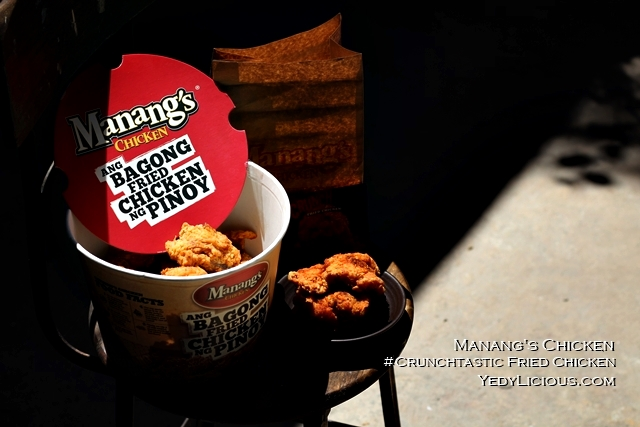 Manang's Crunchtastic Fried Chicken Blog Review, Manang's Fried Chicken Philippines New Product Menu Branches Franchise Website Facebook Instgram Twitter YedyLicious Manila Food Blog