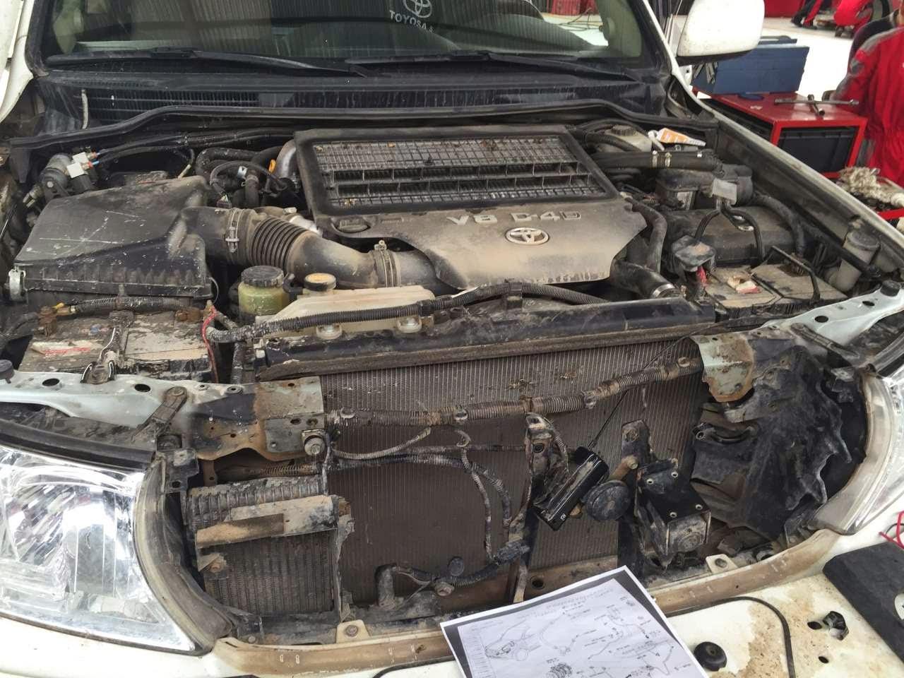Auto Reparaturen und Ersatzteile auf Weltreisen