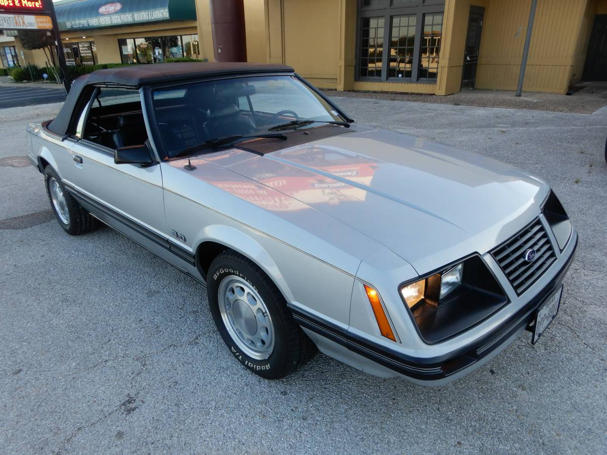 Daily turismo foxy lady 1983 ford mustang 5 0 convertible