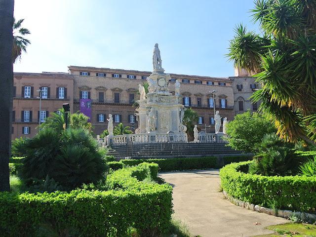 Palazzo dei Normanni Sycylia, zwiedzanie Palermo