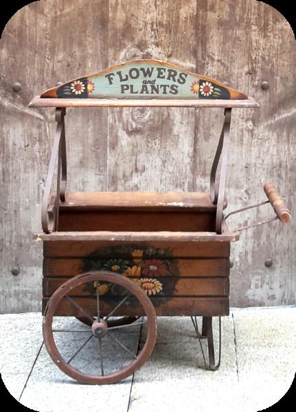carrito-flores-madera
