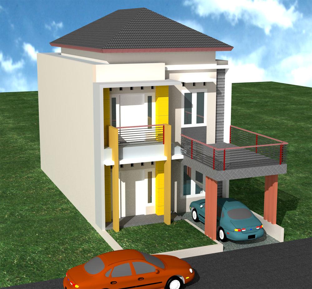 15 Model Rumah Minimalis 2 Lantai IdepropertiCom Gudang Ide