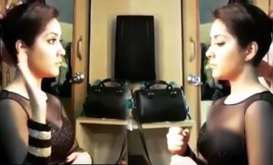 Actress Rashi Khanna Makeup Room Shocking Video Leaked Viral