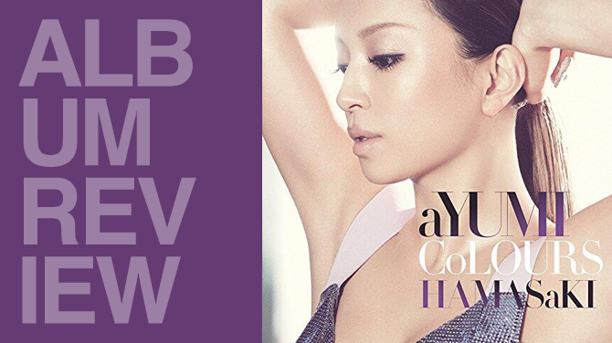 Album review: Ayumi Hamasaki - Colours | Random J Pop