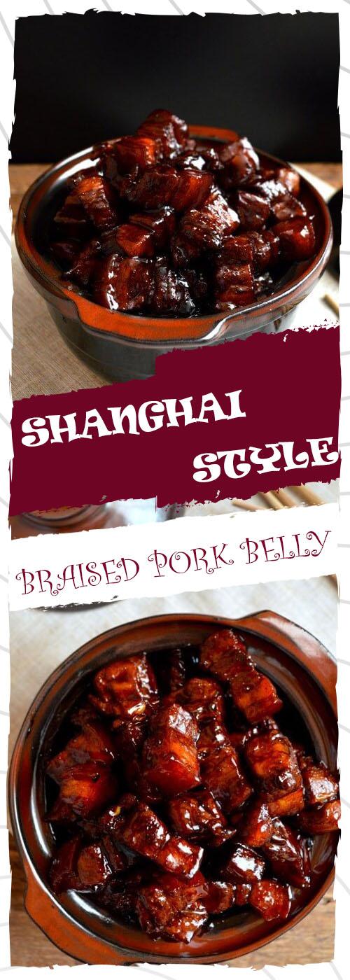 SHANGHAI-STYLE BRAISED PORK BELLY RECIPE