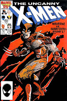 X-men #212 marvel 1980s comic book cover art by Barry Windsor Smith