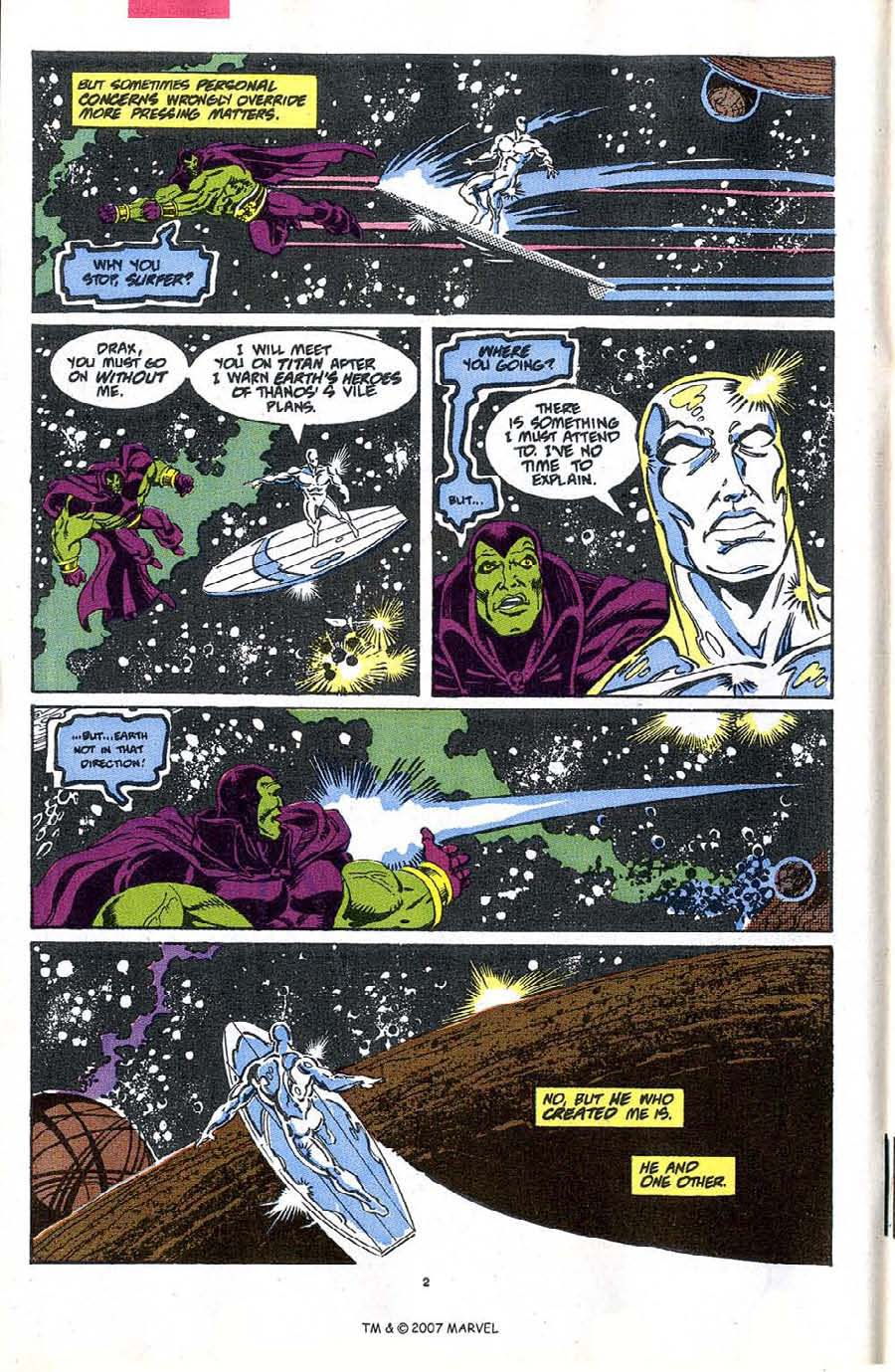 Read online Silver Surfer (1987) comic -  Issue #48 - 4
