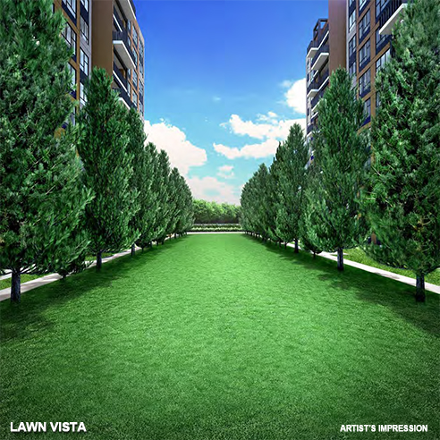 The Brownstone - Lawn Vista