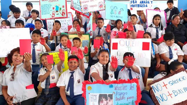 MINEDU busca prevenir violencia en escuelas de Madre de Dios - www.minedu.gob.pe