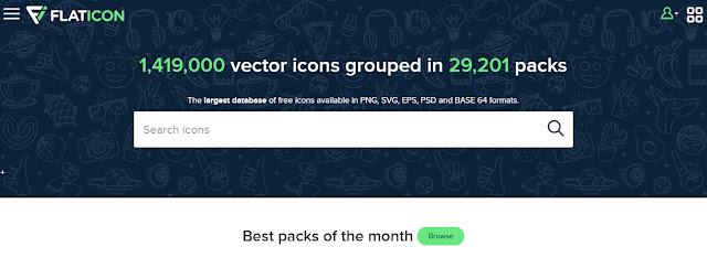 situs penyedia gambar vector - Kored ID