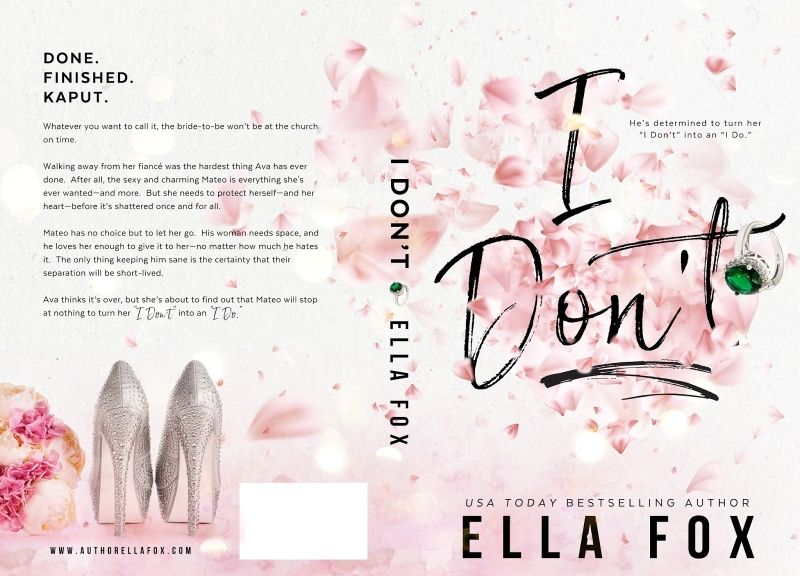Best romance novels: I Don't by Ella Fox