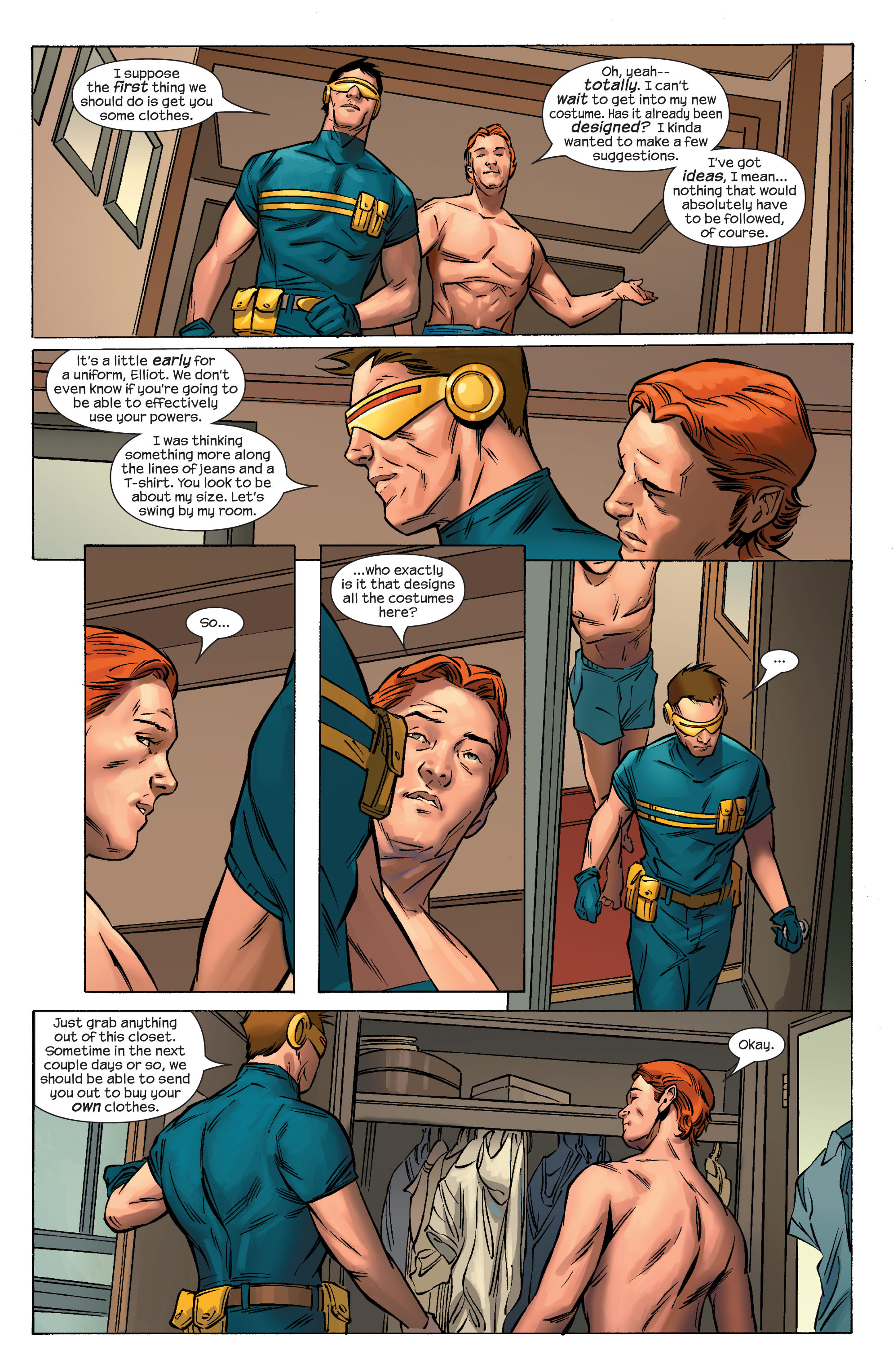 Read online Ultimate X-Men comic -  Issue #69 - 11