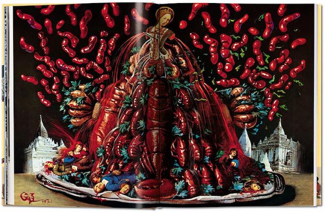 Salvador Dali's Crazy Cookbook Les Diners de Gala