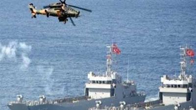 تركيا تستفز الجميع شاهد ما يحدث في شرق المتوسط