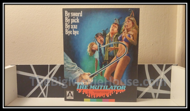The Mutilator slip cover from Arrow Video
