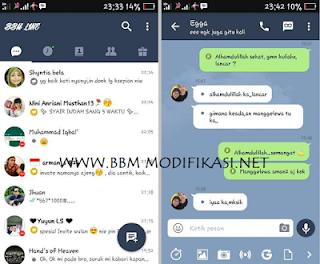BBM Mod BBFution Line Theme v3.2.0.6 Apk for Android Terbaru