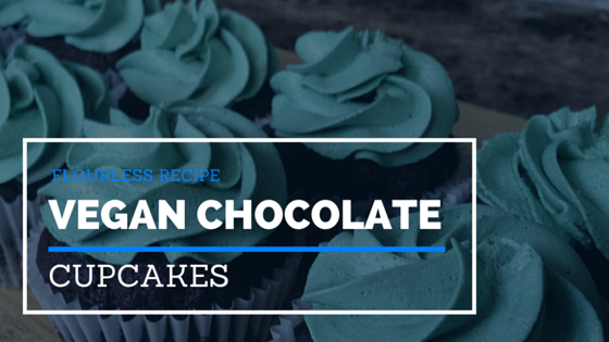 Example of using PLR content vegan chocolate cupcakes PLR recipe as blog content