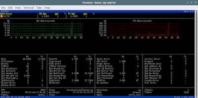 Bmon - Tool Bandwidth Monitoring Real Time Untuk Linux