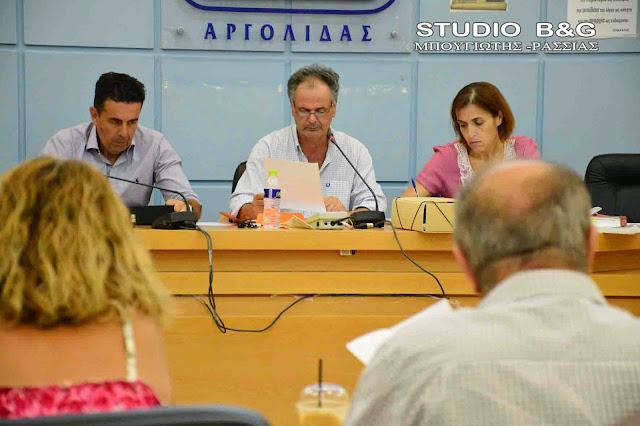Κατεπείγουσα συνεδρίαση του Δημοτικού Συμβουλίου Ναυπλιέων με 5 θέματα
