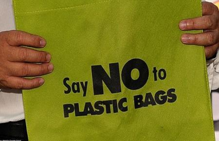 kampane anti sampah kantong plastik